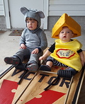Mouse and Cheese Costume