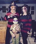 Mr and Mrs Freddy Krueger Costume