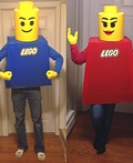 Mr. and Mrs. Lego Costume