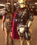 Mr. and Mrs. Predator Costume