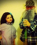 Ms. Kay and Uncle Si Costume
