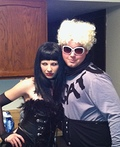 Mugatu and Katinka from Zoolander Costume
