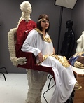 Mummy carrying Cleopatra Costume