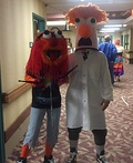Muppets Animal and Beaker Costume