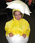 Newly-Hatched Chick Costume