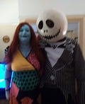 Nightmare Before Christmas Jack and Sally Costume