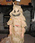 Nightmare Before Christmas Oogie Boogie Costume