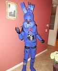 Nightmare Bonnie Costume