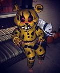 Nightmare Golden Freddy Animatronic Costume