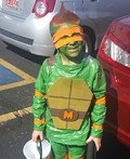 Ninja Turtle Michelangelo Costume