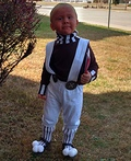 Oompa Loompa Toodler Costume