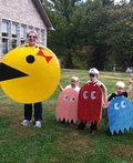 Pac-Man and Crew Costume