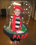 Paris Snow Globe Costume