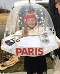 Paris Snow Globe Costume