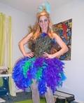 Peacock Costume