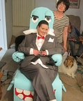 Pee-wee Herman and Chairy Costume