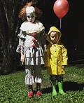 Pennywise & Georgie Costume