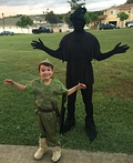 Peter Pan and his Shadow Costume