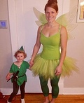 Peter Pan and Tinkerbell Costume