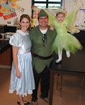Peter Pan, Wendy, and Tinkerbell Costume