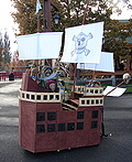 Custom Pirate Ship with Pirate Costume