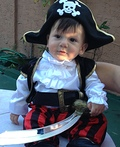 Pirate Ship Stroller Costume