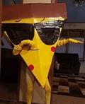 Pizza Steve Costume