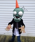 Plants vs Zombies Conehead Zombie Costume