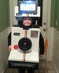 Polaroid Camera Costume