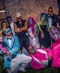 Pop Art Zombie Family Costume