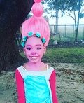 Poppy Troll Costume