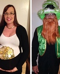 Pot of Gold and Lucky Leprechaun Costume