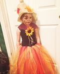 Princess Scarecrow Costume