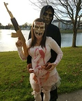 Purge Couple Costume