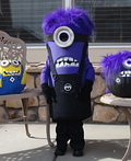 Purple Minion Gone Mad Costume