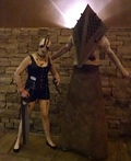 Pyramid Head & Claudia Wolf Costume