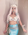 Queen Triton, Mermaid Costume