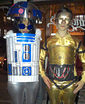 R2-D2 and C-3PO Costume
