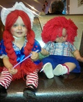 Raggedy Ann and Andy Costume