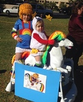 Rainbow Brite and Twink Costume