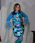 Rainbow Fish Costume