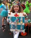 Rainbow Loom Costume