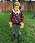 Raptor from Fortnite Costume