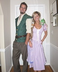 Rapunzel and Flynn Rider Costume