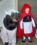 Red and Grandma Costume