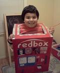 Red Box Kiosk Costume