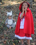 Red Riding Hood and Big Bad Wolf Costume