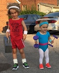 Richard Simmons and Olivia Newton John Costume