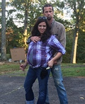 Rick and Laurie from Walking Dead Costume