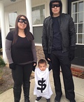 Robbers & Bag of Money Costume